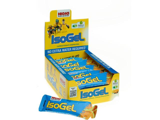 High5 IsoGel Box 25x60ml, Orange (2019) | Energy gels